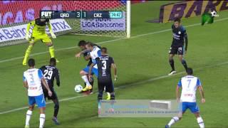 Querétaro 4-2 Cruz Azul - Jornada 6 - Apertura 2015