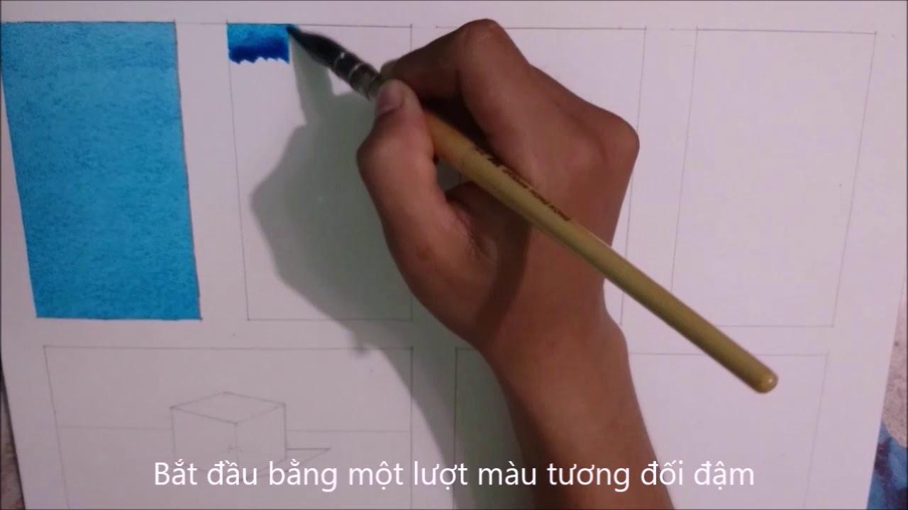 Các kỹ thuật vẽ màu nước cơ bản