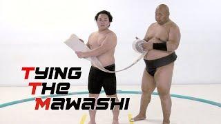 TYING THE MAWASHI