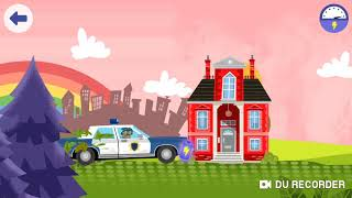#Police #CarChase | #YoutubeKids |  Police Car #KidsGames Play #Educational #Kids #Games 4 Children