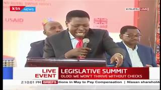 Devolution CS Eugene Wamalwa full speech at the Legislative summit Kisumu