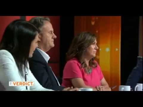 A heated debate on Australian TV about the use of the word 'Negro'.