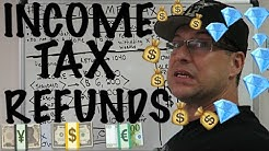 Accounting for Beginners #54 / Tax Refund / Getting Money from your Tax Return / Federal Withholding