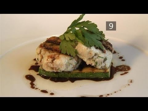 How To Prepare Mediterranean Fish Cakes With Grilled Courgettes