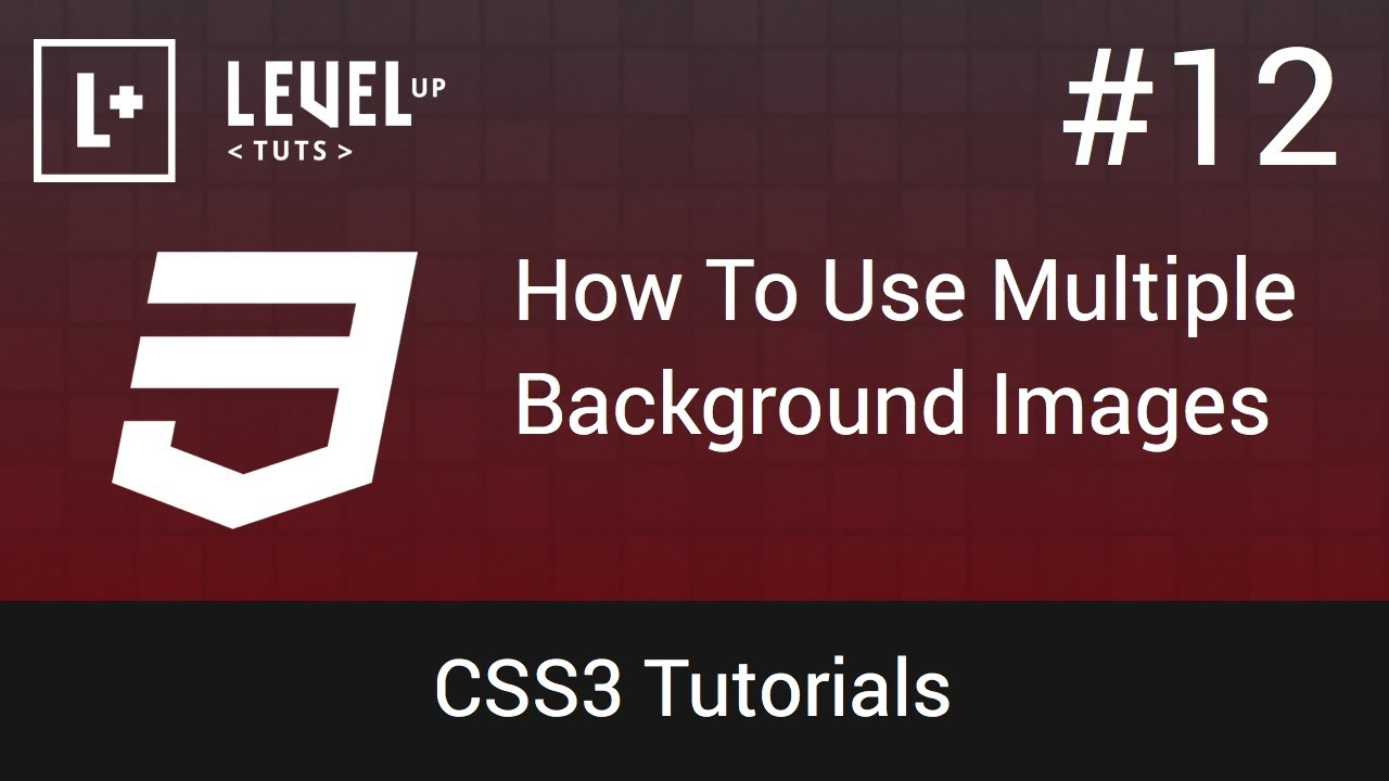 2 background images css - Css3 Tutorials 12 How To Use Multiple Background Images In Css Youtube