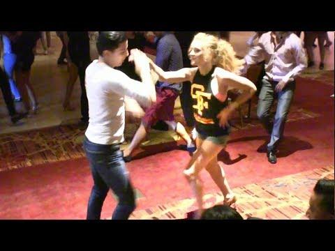 Natasha Tia & Oscar Martinez Social Dancing @ 2017 Las Vegas Salsa Congress!
