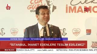 Ve Ekrem İmamoğlu İstanbul için çözümleri bir bir açıkladı!
