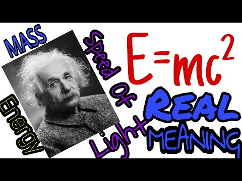 Meaning of E=mc2 | Albert Einstein | Mass energy equivalence | E=mc2 explained | in Hindi