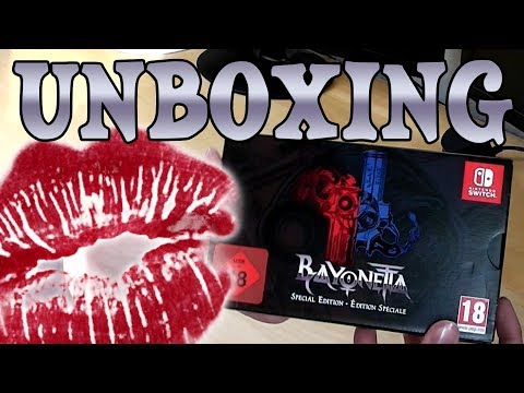 lookslikeLinks Bayonetta Special Edition Unboxing Session!