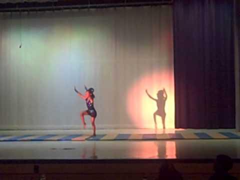 Super Bass gymnastics talent show 2012