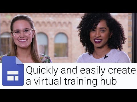 Virtual Training Hub | The G Suite Show