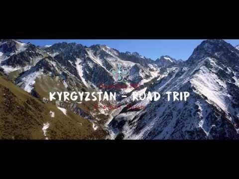 KYRGYZSTAN Road Trip - DJI Mavic Pro Drone - 4K