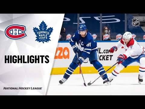Canadiens @ Maple Leafs 5/6/21 | NHL Highlights