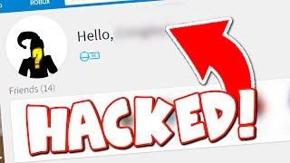 HACKING MY FRIEND'S ROBLOX ACCOUNT!! (I DESTROYED IT!)
