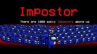 Entre nós, mas com 1000 Impostores Sônicos