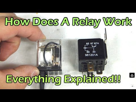 How Does A Relay Work - Automotive Relay SPDT