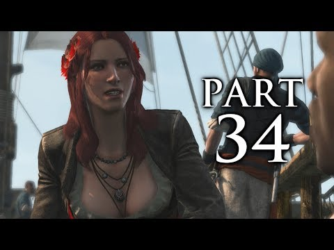 Assassin's Creed 4 Black Flag Gameplay Walkthrough Part 34 - Royal Misfortune (AC4)