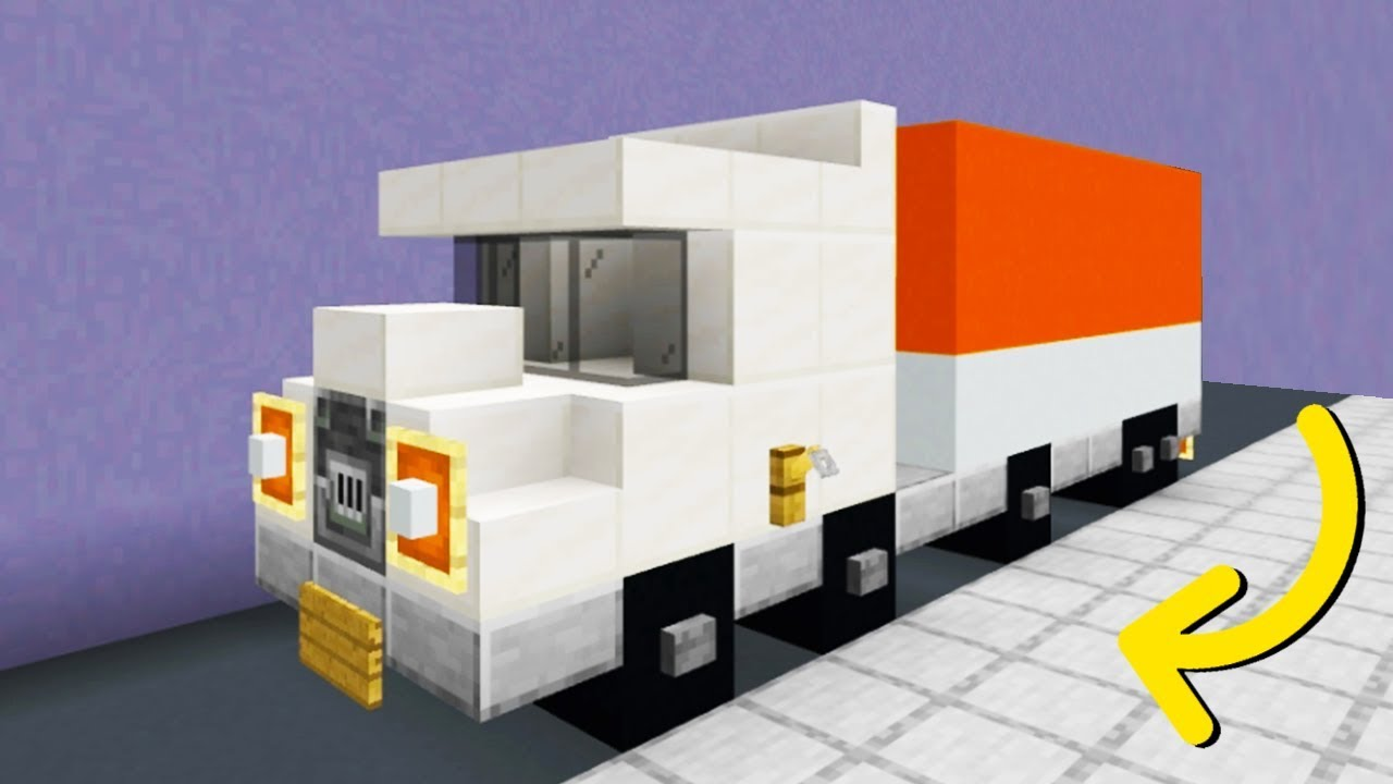 """Minecraft Tutorial: How To Make A Truck """"2019 City ..."""