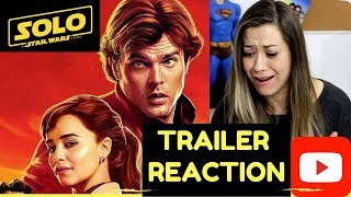 SOLO: A Star Wars Story TRAILER REACTION 2