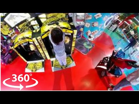 360 Video  | Fun Indoor Playground for Kids and Family | Indoor Games and Activities for Kids