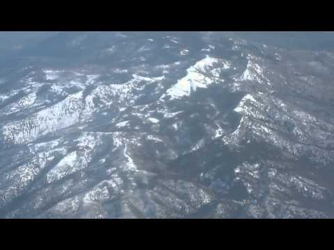 Victoria BC-to-San Francisco flight: takeoff, Olympics Range, Clear Lake CA, Golden Gate 2011-11-08