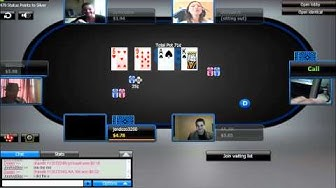 Online Poker - The 888 Genie Surpises a Pokercam Table on 888 Poker