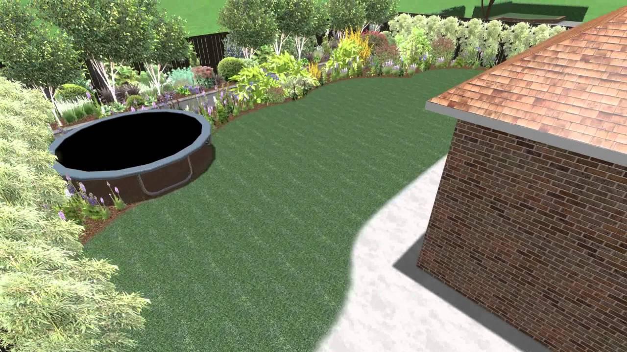 contemporary garden design videos to the modern victorian gardens