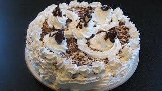 Торт Дамские пальчики. Сливочный крем рецепт.