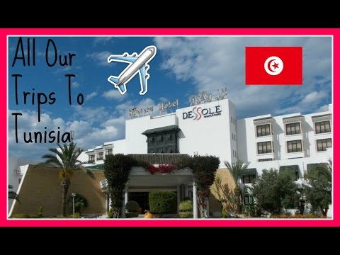 ALL OUR TRIPS TO TUNISIA!!!