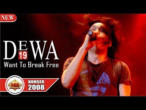 Ajibb ... [ DEWA 19 ] - I Want To Break Free (LIVE KONSER PEKANBARU 2008)