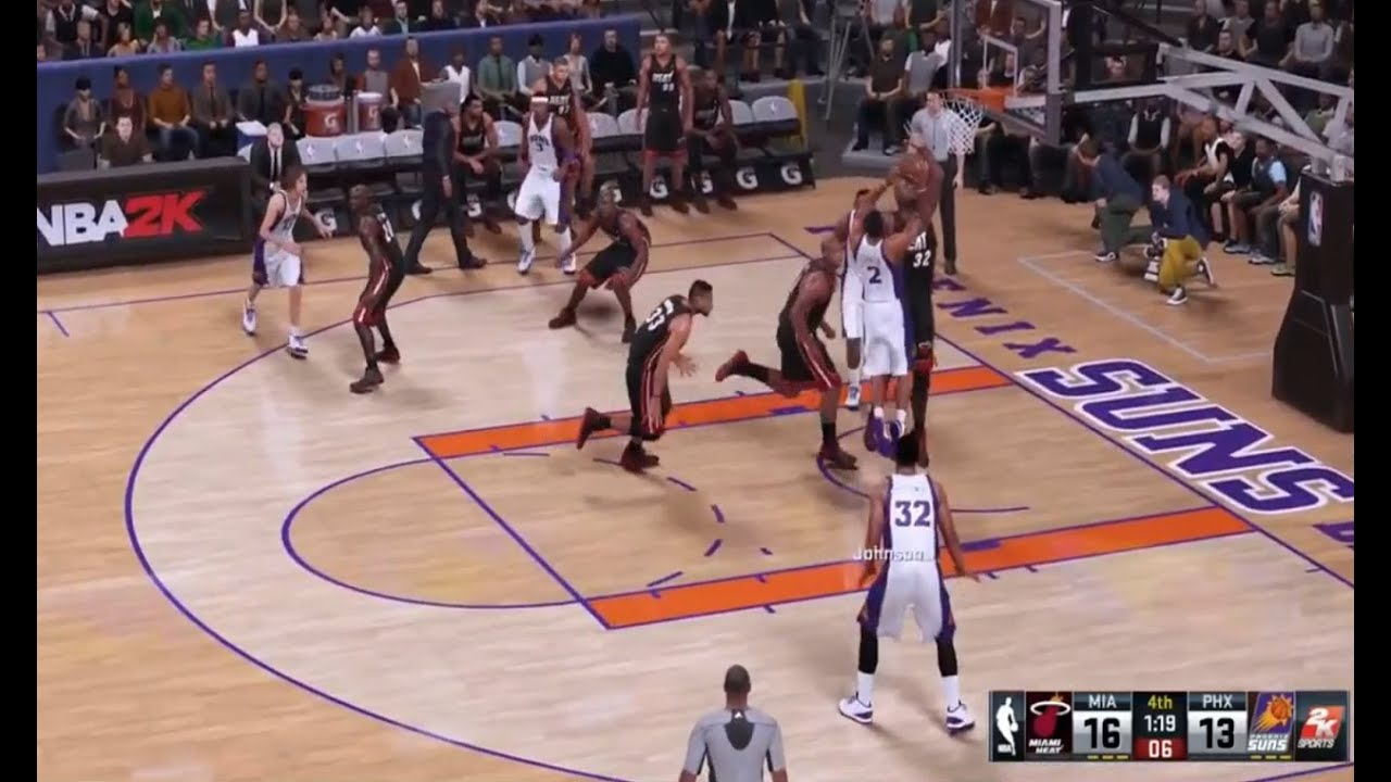NBA 2K16 Basketball Game playing Action on the PlayStation ...