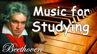 Beethoven Classical Music for Studying, Concentration, Relaxation | Study Music Piano Instrumental