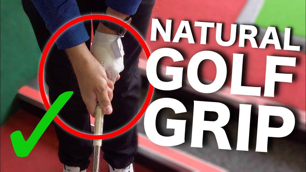 The NATURAL way to hold a golf club to HIT STRAIGHT SHOTS!