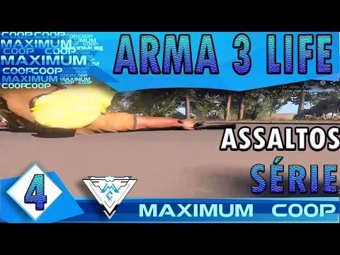 ARMA 3 AUSTRALIA LIFE COOP #4 - ASSALTOS IMPECÁVEIS! / Gameplay 1080p  PT-BR