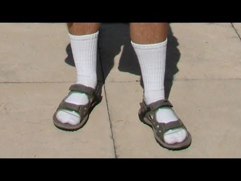 Socks And Sandals Are Sexy Youtube