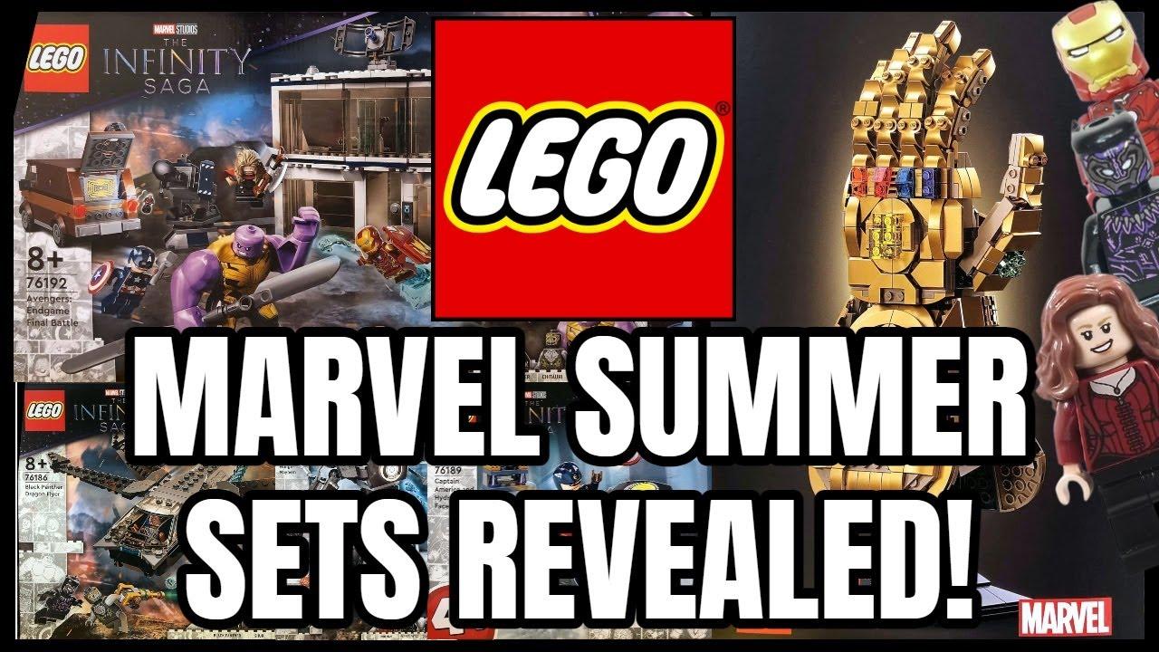 NEW Lego Marvel Infinity Saga Sets REVEALED! (GREAT WAVE!)