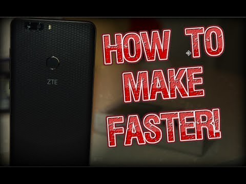 How To Make ZTE Blade Zmax Faster