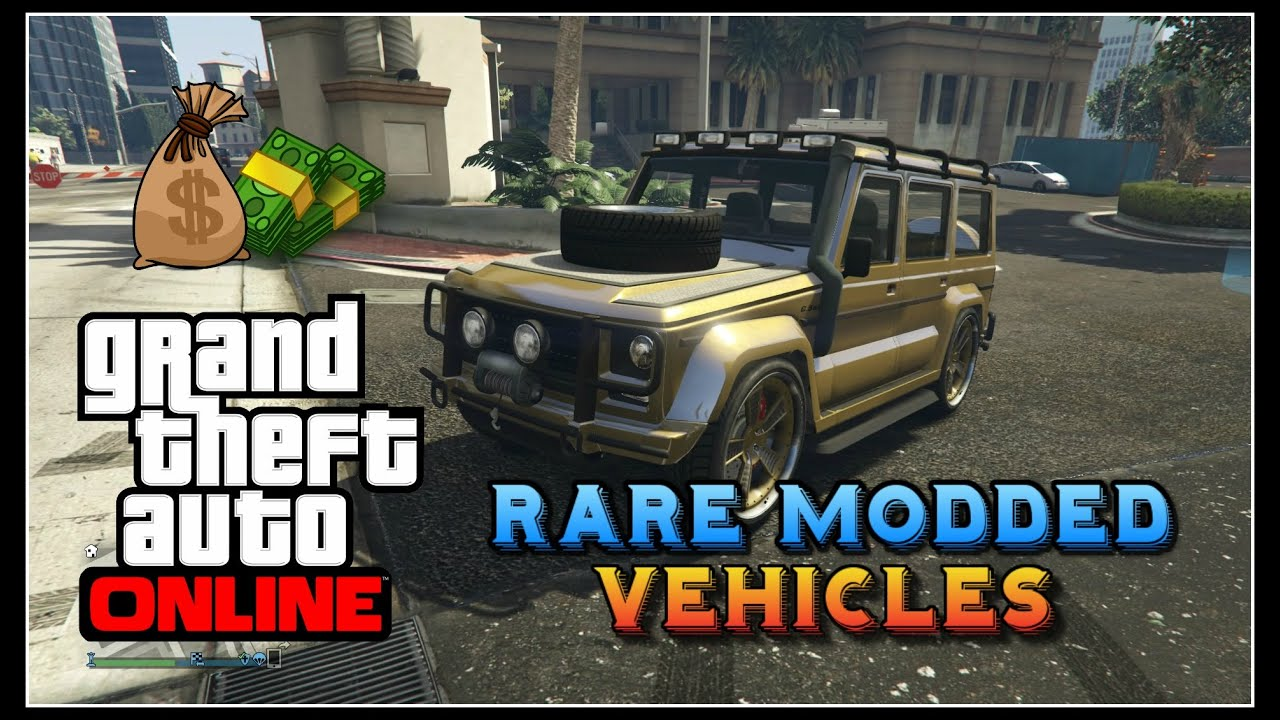 Gta online modded npc vehicles rare dubsta 2 sentinel xs sandking gta v rare cars youtube