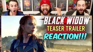 BLACK WIDOW | Teaser TRAILER - REACTION!!!