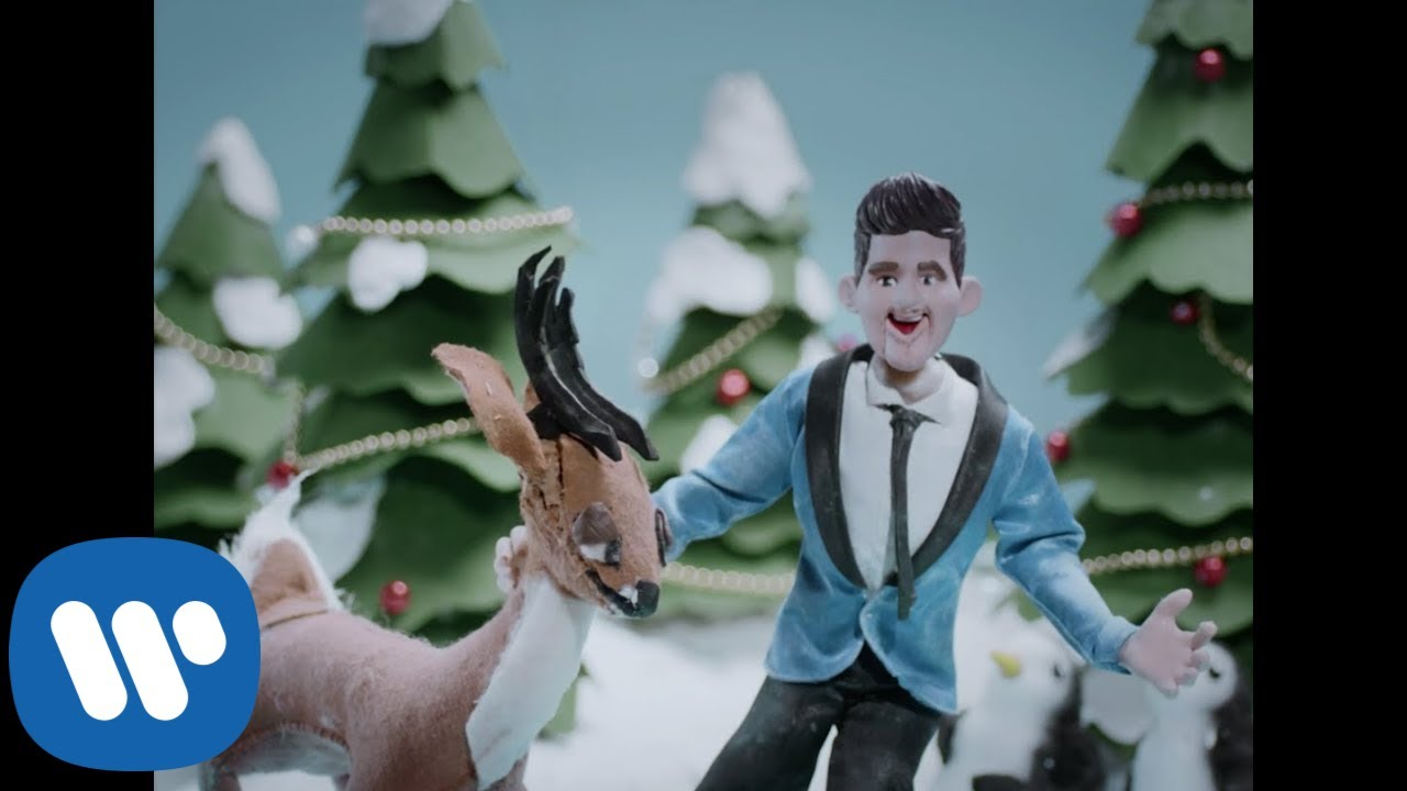 Michael Buble Christmas 2020 Michael Bublé   White Christmas [Official Animated Video]   YouTube