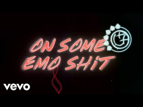 Blink-182 - On Some Emo Shit (Lyric Video)
