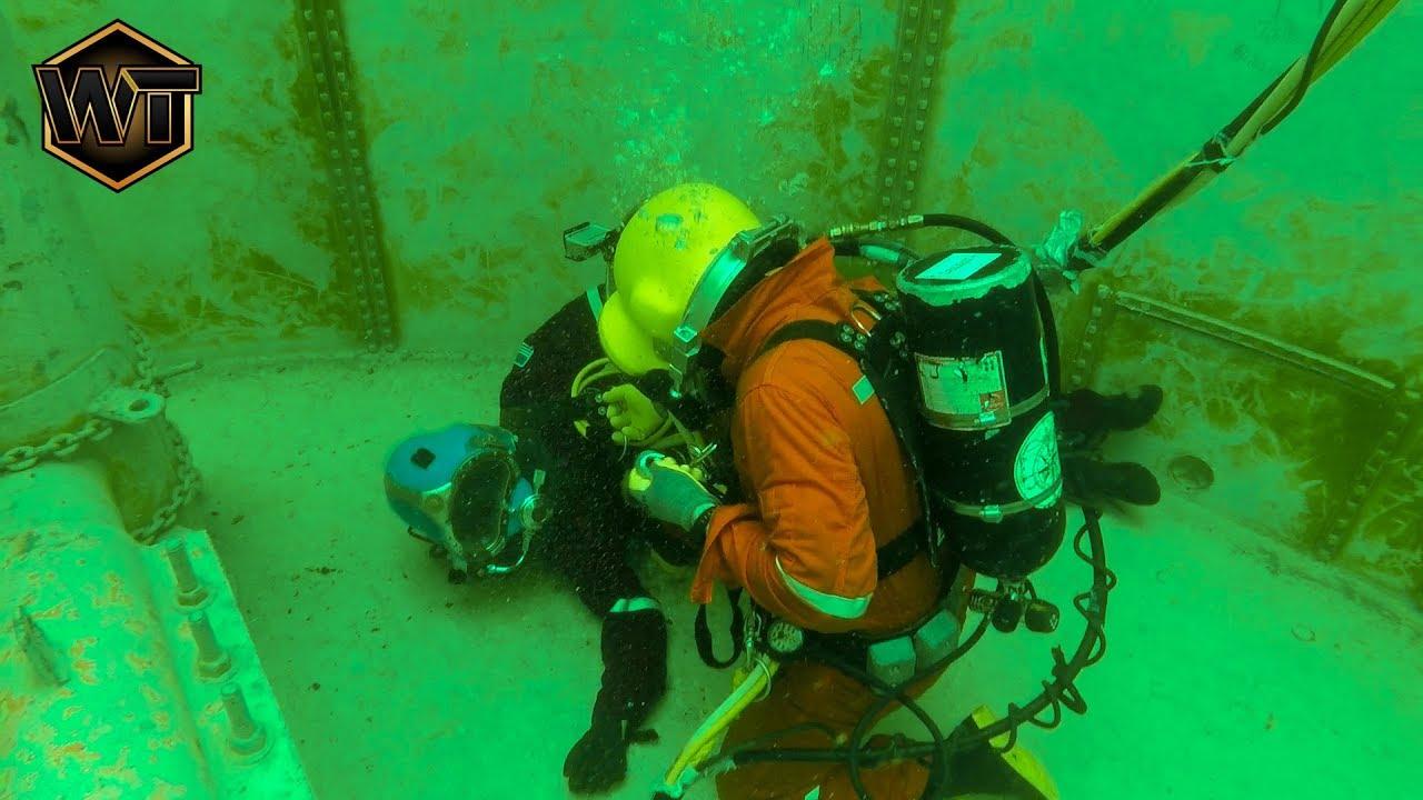 Unresponsive Underwater Welder Youtube