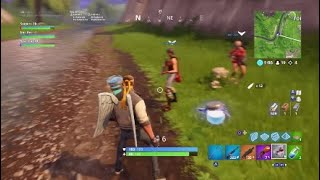 Playing Squads Getting Dubs - Fortnite Battle Royale - Snipers 1k Spacebot24 bbr-Kee