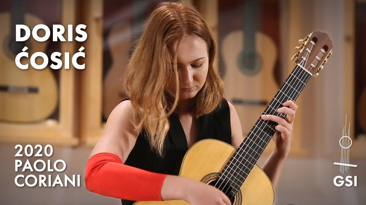 "Leo Brouwer's ""Six Preludios Epigramaticos (I-IV)"" performed by Doris Ćosić on a 2020 Paolo Coriani"