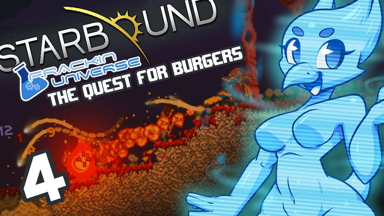[MODDED] Starbound (Frackin Universe) Part 4: The Quest for Burgers