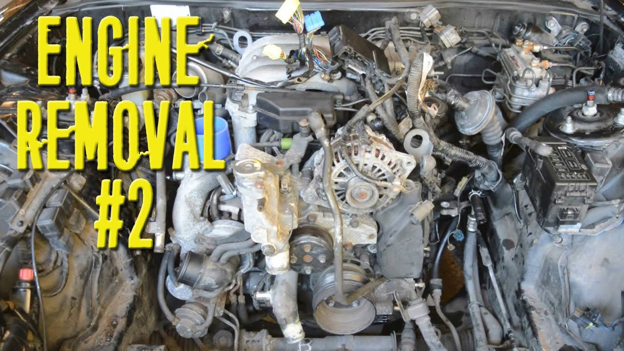 Removing 13b Rotary From Rx7 Fd Part 2 Youtube Engine Diagram