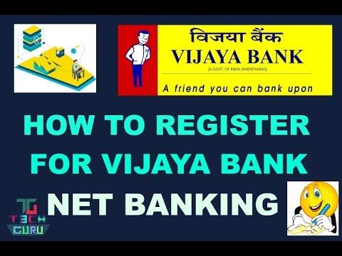 vijaya bank internet banking form download