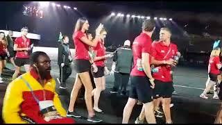 Commonwealth Games Gold Coast athletes closing ceremony 2018