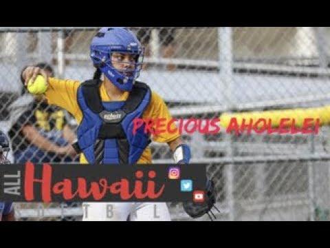 Precious Aholelei C/O 2019: Interview — All Hawaii Softball