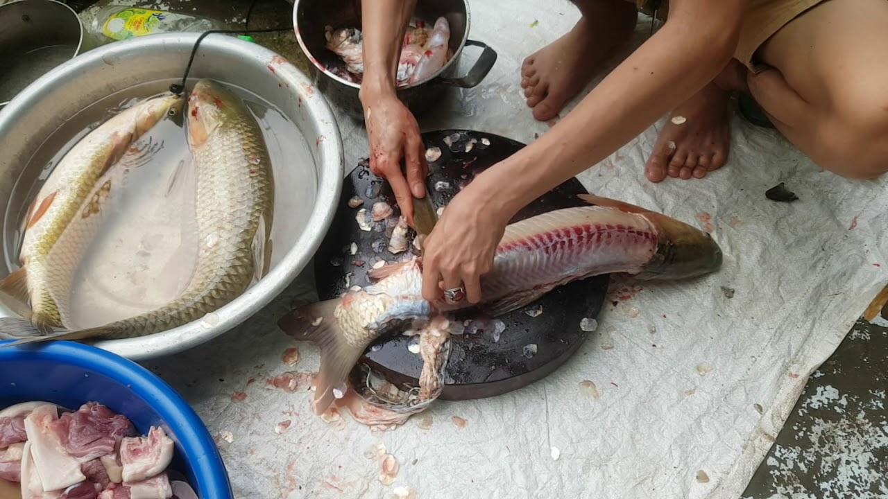 GỎI CÁ SỐP CỘP CỰC NGON || HD chế biến món ăn dân tộc.. Ẩm Thực Đời Sống Việt Lào